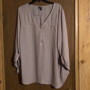Maurices 3/4 sleeve top in a size 3Xl